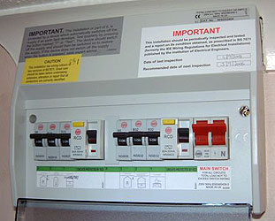 a consumer unit or fusebox sits between the electricity meter and the  electrical circuits in your house  many houses have the old style of fusebox  which